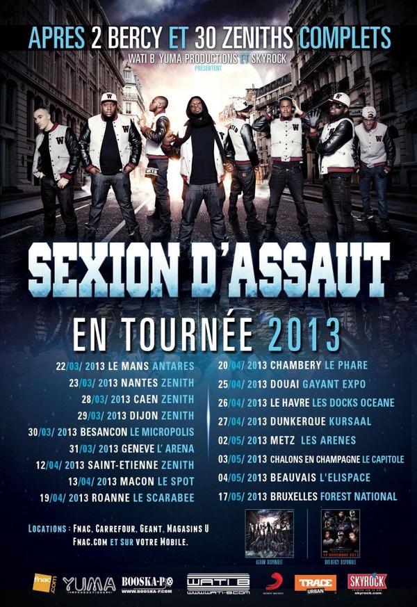 SEXION D'ASSAUT NOMMES AUX VICTOIRES DE LA MUSIQUE 2013! - WATI B