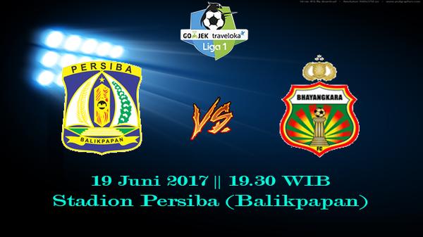 Prediksi Persiba vs Bhayangkara 19 Juni 2017