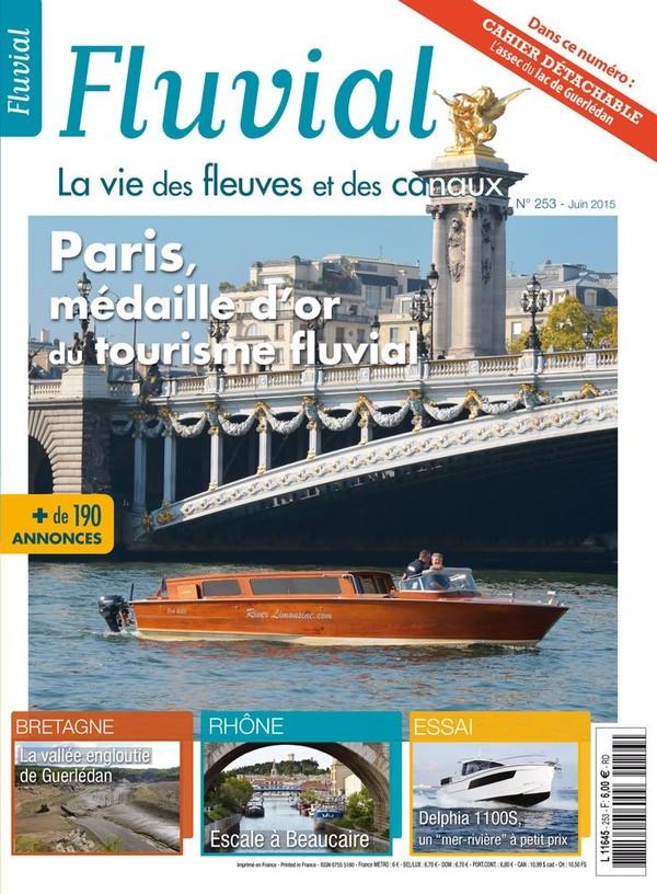 Revue Fluvial Vient de paraître Fluvial 253 - Le numéro de juin dès demain dans les kiosques