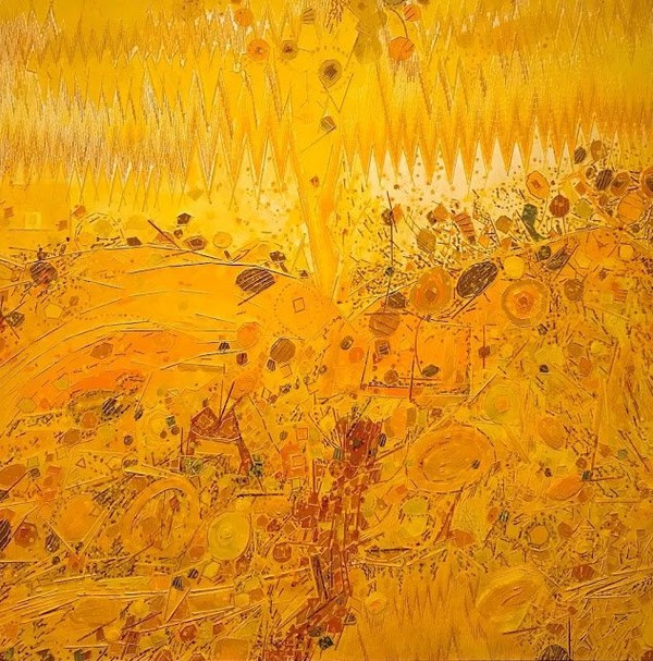 Exposition Art Blog: Lee Mullican - Abstract Art