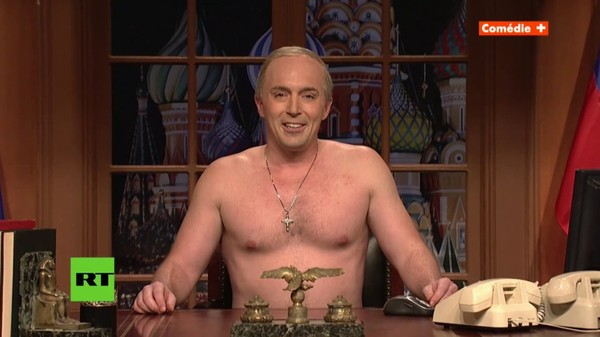 Vladimir Putin Cold Open - SNL - YouTube