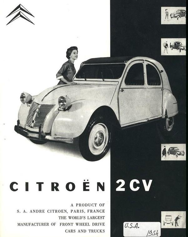 1954 2CV USA | CITROEN | Pinterest | Cars, Classic Cars and Vintage Cars