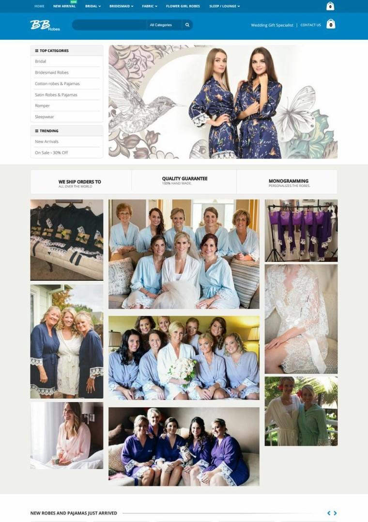 Bridesmaid sleepwear