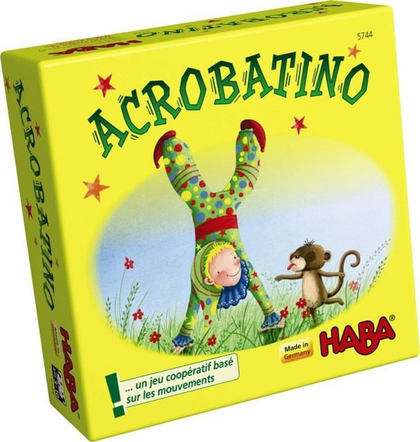 Concours : 3 jeux coopératifs Acrobatino à gagner!