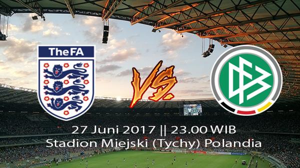 Prediksi Pertandingan Inggris U21 vs Jerman U21 27 Juni 2017