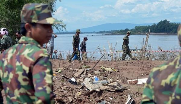 Laos: difficile recherche des corps après l'accident d'un avion - LExpress.fr