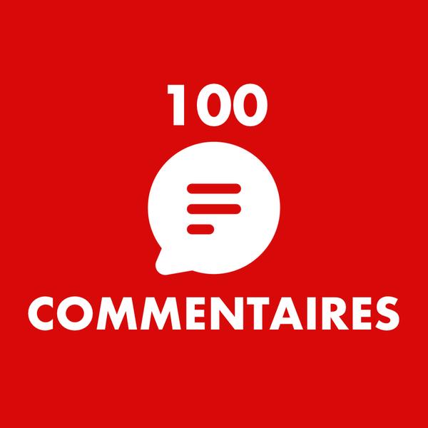 Acheter 100 commentaires Youtube - ViewsTube
