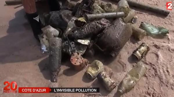 VIDEO. Au fond de la Méditerranée, les poubelles de la Côte d'Azur