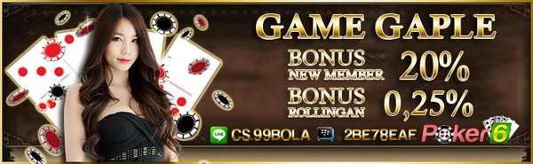 Cara Bermain Game Gaple Online