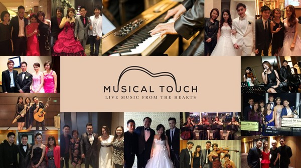 Musical Touch | Wedding Live Band Singapore | Corporate Events Music