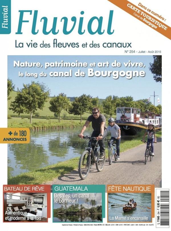 Revue Fluvial vient de paraître Fluvial 254 - Le numéro de l'été est en kiosque