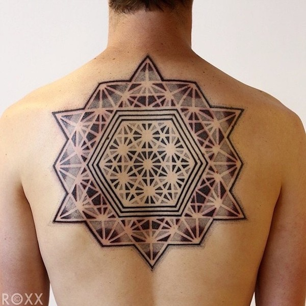 Quite one-of-a-kind geometric tattoos - NICE PLACE TO VISIT