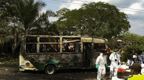 Colombie: 31 enfants brûlés vifs dans l'incendie d'un autocar