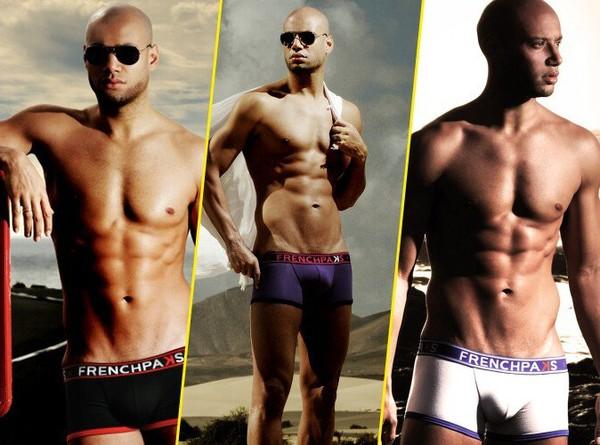 Mode : Xavier Delarue (Secret Story 1) : égérie d'une campagne très hot pour les boxers Frenchpaks ! | Conso-Club
