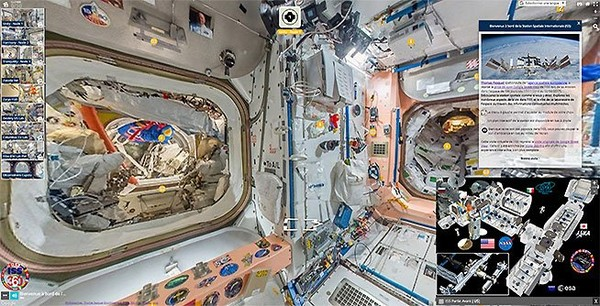 ISS 360 | Station Spatiale Internationale - Street View Enrichi