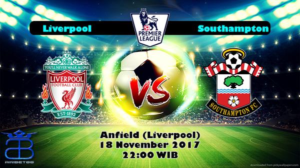 Prediksi Liverpool VS Southampton 18 November 2017
