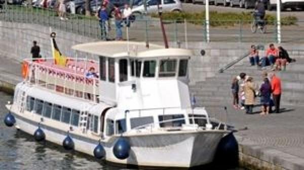 Le tourisme fluvial plafonne à Namur