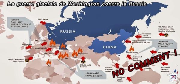 La guerre glaciale de Washington contre la Russie !