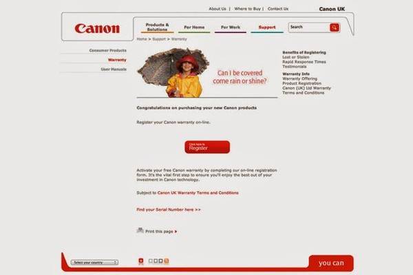 Canon Printer Warranty Check By Serial Number Usa - Best Photos Of