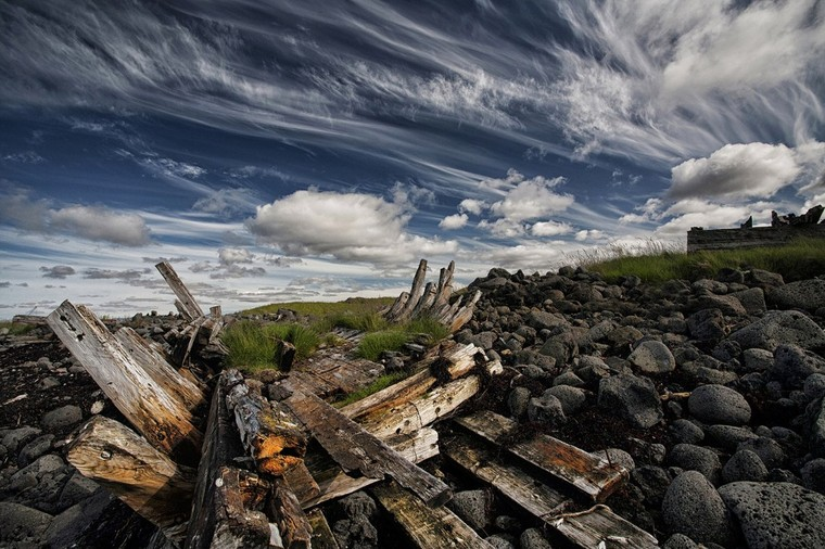 Remains of a Wreck by Þorsteinn H Ingibergsson