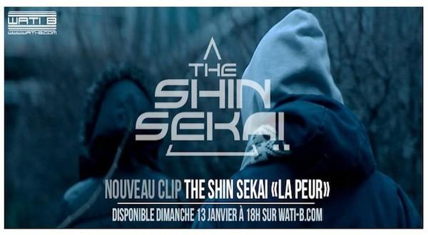 THE SHIN SEKAI - SORTIE CLIP LA PEUR LE 13/01 - WATI B