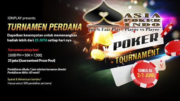 Turnamen Asia Poker Cup 2017   Daftar Poker Online