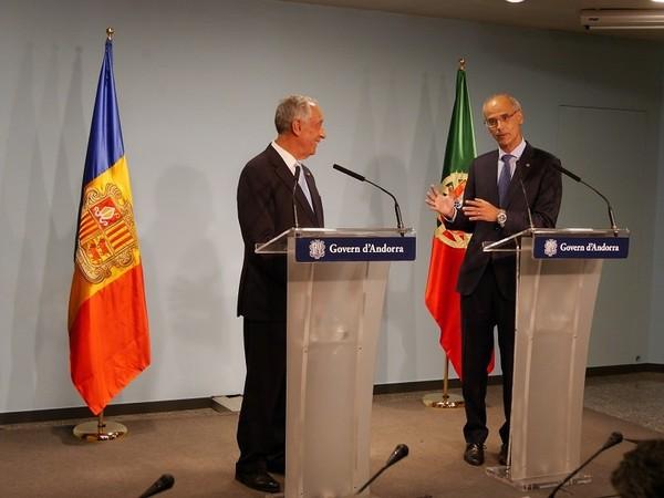 Le président du Portugal, Marcelo Rebelo de Sousa, dans le cadre de sa visite officielle en Andorre a déclaré sa volonté de renforcer les relations économiques et commerciales avec l'Ando...