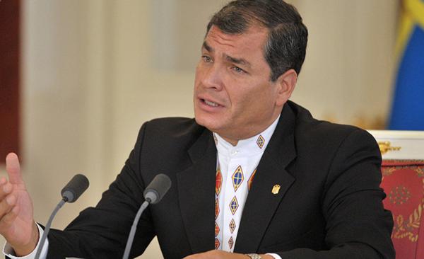 Unasur rechaza violencia contra expresidente Correa a días de plebiscito enEcuador