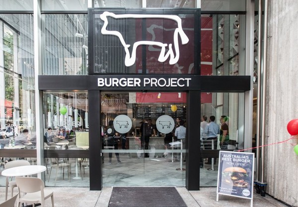 Burger Project Opens in Brisbane City