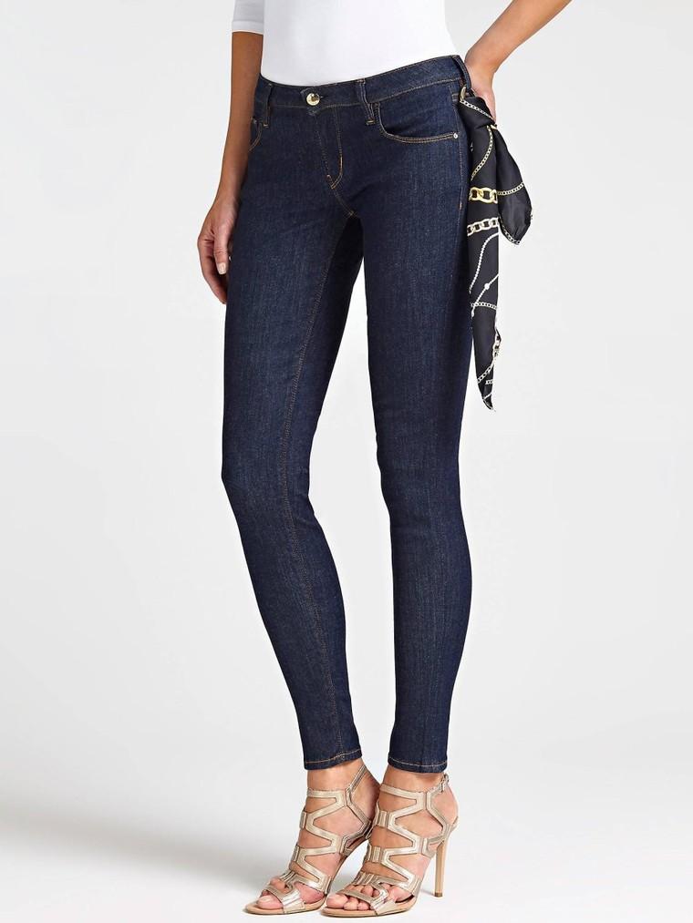 JEAN SKINNY FOULARD Guess - Jeans Femme Guess - Iziva.com