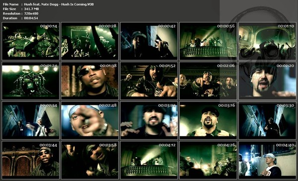 All Hip Hop Archive: Hush feat Nate Dogg - Hush Is Coming