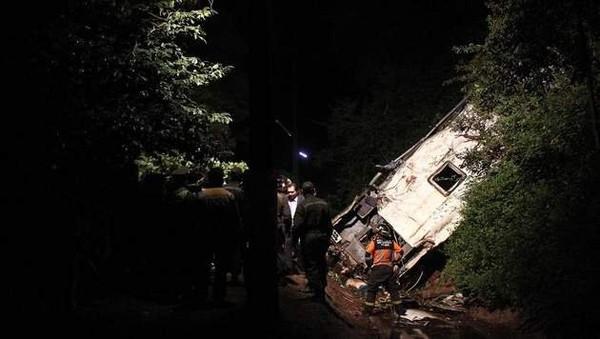 Au moins 15 morts et 19 blessés dans un accident de la route au Chili