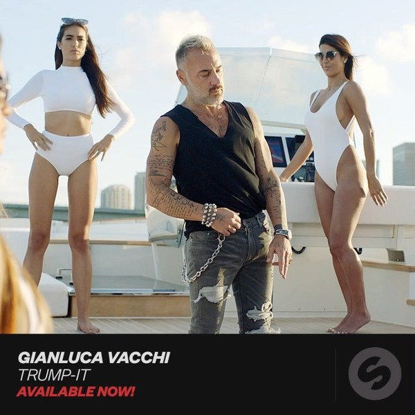 "Gianluca Vacchi on Instagram: ""TRUMP-IT 💥Complete version on YouTube @spinninrecords @nicolazucchi"""
