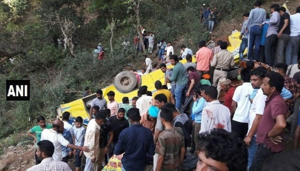 Over 20 students die as school bus falls into gorge in Himachal Pradesh's Kangra - Republic World