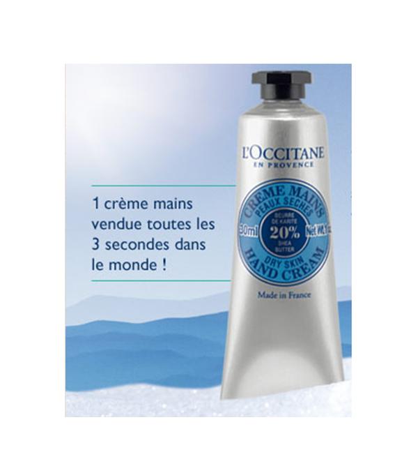 Échantillons Crème pour les mains de L'Occitane - Échantillon Gratuit - Crème pour les mains de L'Occitane