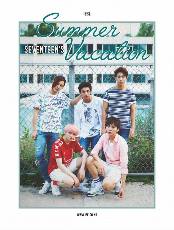Ize& Vol.15: SEVENTEEN