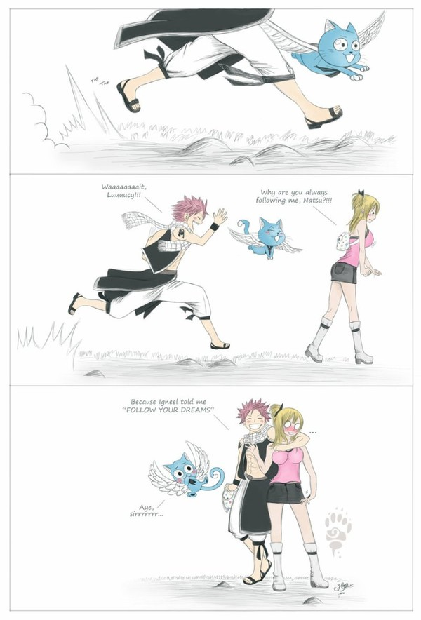 Follow your dreams - NaLu by *Hele-Jaguar on deviantART