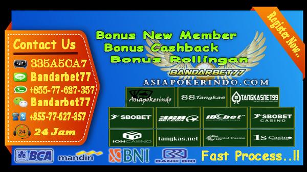 Taruhan Bola Online Deposit Melalui Bank BCA, Mandiri, BNI
