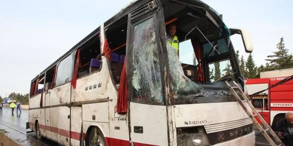 20 Minutes Online - Quatre touristes tués dans un accident de car - Faits divers