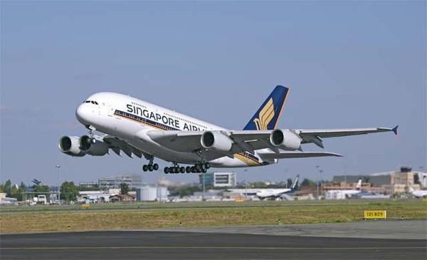 Singapore Airlines a bloqué l'un de ses A380 au sol