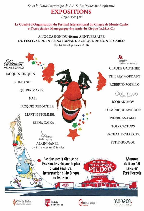 La plus importante et la plus prestigieuse manifestation mondiale du Cirque — MonteCarlo Festivals