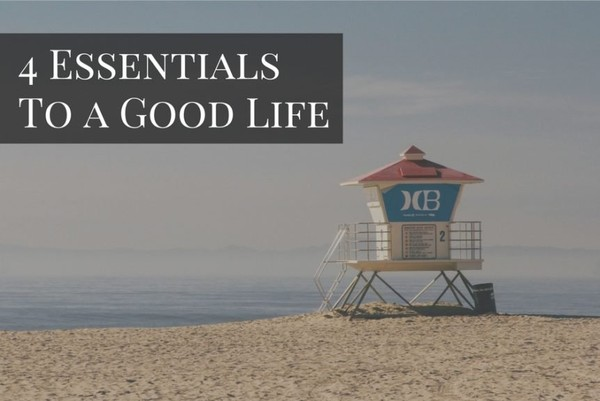 4 Essentials To a Good Life - Rich Dad Advisors