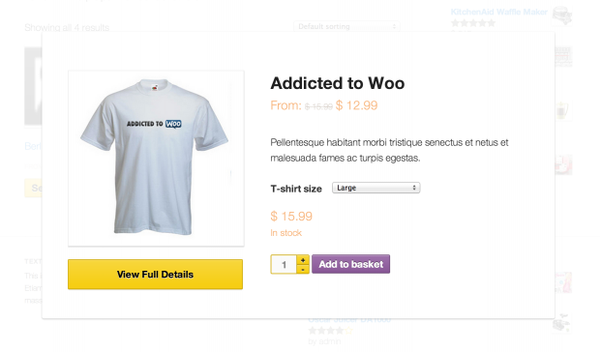 WooCommerce Quick View 1.1.8 Extension - Get Lot