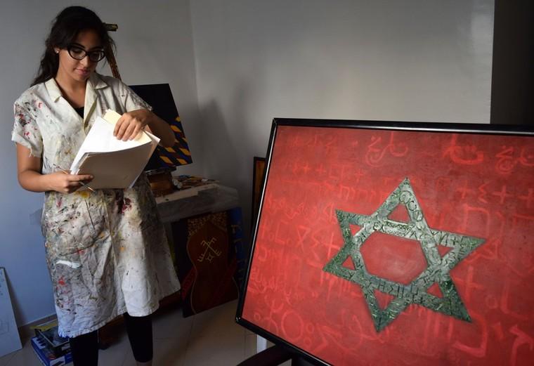 L'art judéo-amazigh de Chama Mechtaly censuré au Maroc