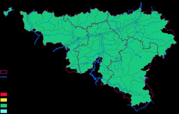 Direction générale opérationnelle de la Mobilité et des Voies hydrauliques - Etat des eaux en Région wallonne