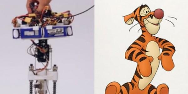 Disney fabrique un robot capable de bondir comme Tigrou – Blog Disney