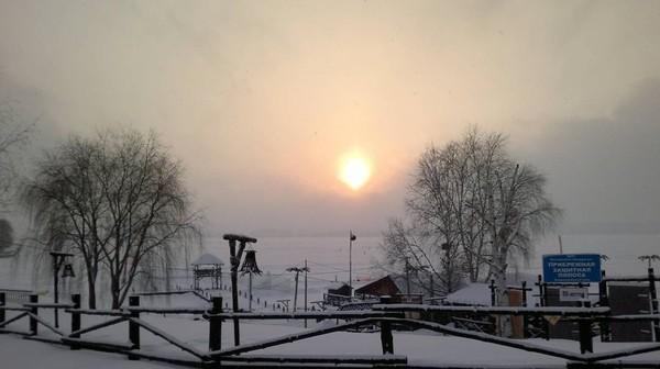 """Александр Гермаков on Instagram: """"#пляжостров #воткинск #зимнийдень #instagramrussia"""""""