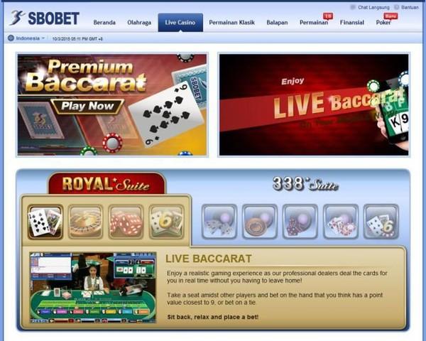 Cara Menang Bermain Baccarat Casino 338a Online