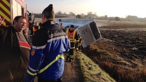 Accident d'un bus scolaire en Meurthe-et-Moselle : la vitesse mise en cause par des témoins