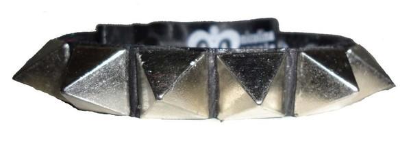 solid studded cuffs - www.nicolinaroyale.com